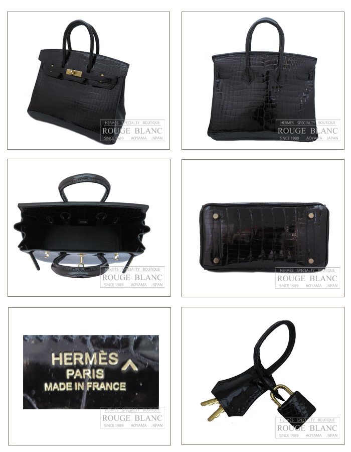 88815b578de6 Color, Black Buckle Gold. Material, Crocodile Porosus Lisse. Condition,  New. Years, C. Accessories, All have